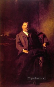 Henry Lee Higginson portrait John Singer Sargent Oil Paintings